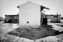 Immigrants' daughter at home. Kerman, California.
