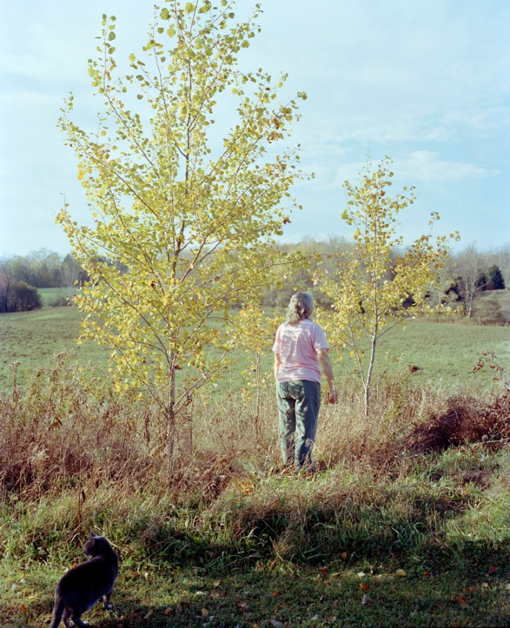 Sarah Pfohl: Between poplars