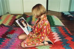Marilène Coolens and Lisa De Boeck: Elle et son Pucci, 1996
