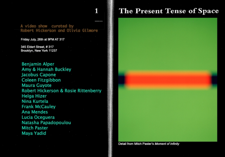 Lintroller Present The Present Tense of Space
