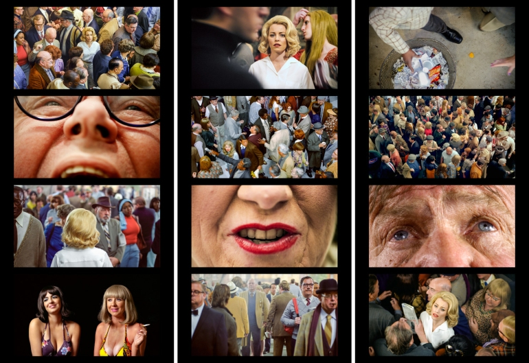 Face in the Crowd filmstrip #1, #2and #3 Alex Prager 2013 Archival Pigment Print Each Filmstrip is part of an edition of 6