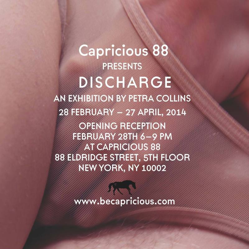 Petra Collins at Capricious 88