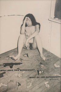 Hannah Wilke, So Help Me Hannah: What Does This Represent / What Do You Represent (Reinhart), 1978–1984.