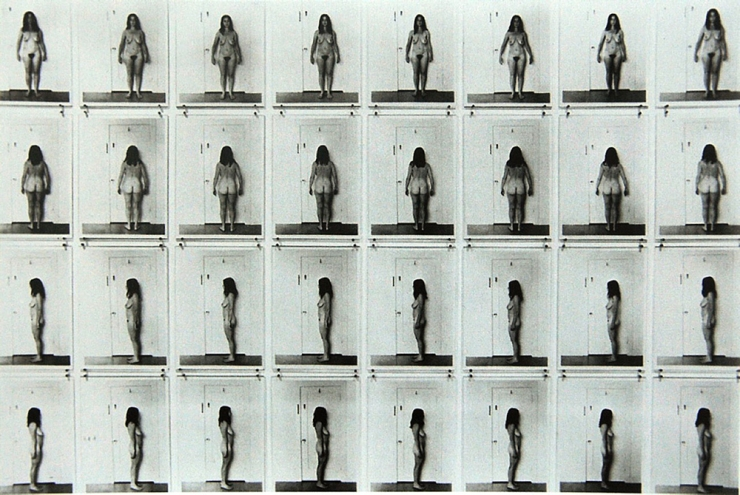 Eleanor Antin American, Carving: A Traditional Sculpture, 1972.