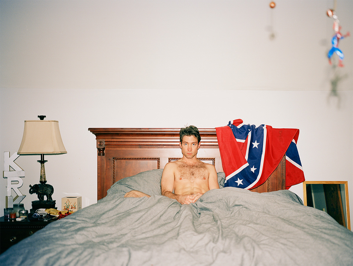 kirk in bed