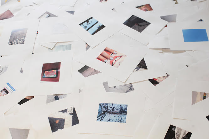 """Installation detail of """"Otherwise Untitled."""" Photograph by Delaney AM."""