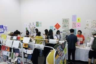 Zine Rooom at the 2018 Singapore Art Book Fair