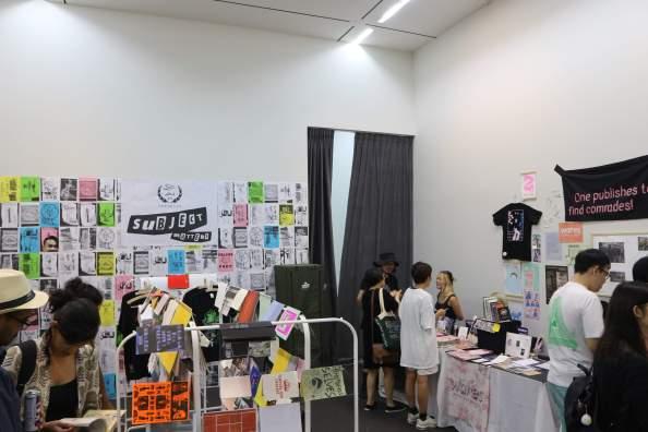 Zine Room at the 2018 Singapore Art Book Fair