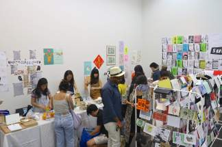 Zine Rooom at the 2018 Singapore Art Book Fair
